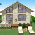Сглобяема енергоефективна къща от дърво Tоника 50 кв м | 172013 - 285052