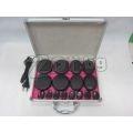 16 бр Вулканични камъни за масаж подгряващ куфар | 172251 - 285907