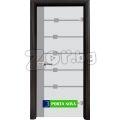 Стъклена интериорна врата, Sand G 14-5 | 388502 - 603309